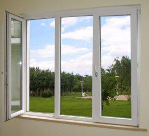 پنجره دوجداره ثابت ترکیبی