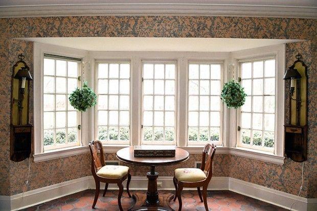 پنجره خلیجی bay window