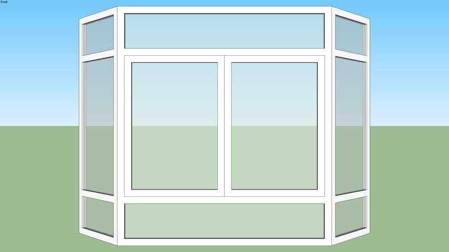 پنجره دوجداره خلیجی