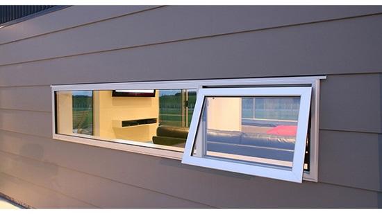 پنجره دوجداره سایبانی