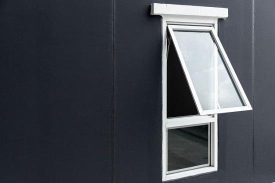 پنجره دوجداره کلنگی و سایبانی