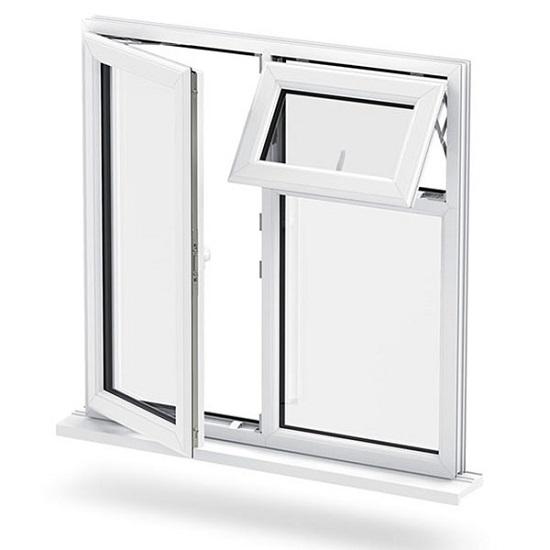 پنجره سایبانی ترکیبی