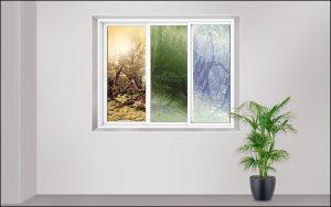 پنجره برای مناطق مختلف
